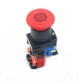 EMERGENCY STOP ILLUMINATED PUSHBUTTON 1NO+1NC product photo