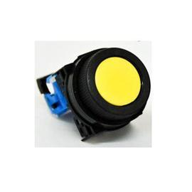 FLUSH ROUND HEAD PUSHBUTTON 30MM 1NO BLACK product photo