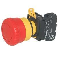 EMERGENCY STOP PUSHBUTTON 1NC RED product photo