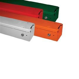 "METAL TRUNKING G20 2"" X 3"" ORANGE product photo"