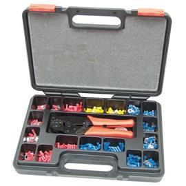 HEAVY DUTY RATCHET CRIMPING TOOLKIT 552PC product photo