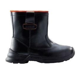 COMFORT SERIES OR GRAIN LEATHER PULL-UP BOOT HIGH CUT BLK/OR SIZE 10 product photo