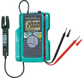 DIGITAL MULTIMETER WITH AC/DC CLAMP SENSOR 60A 600V product photo