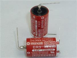 ER SERIES COIN LITHIUM THIONYL CHLORIDE BATTERY 3.6V product photo