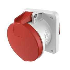 PANEL MOUNTED SOCKET 63A 5P 400V IP44 product photo