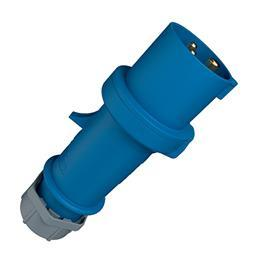 PLUG STAR TOP W/ SAFE CONTACT 32A 3P 230V IP44 product photo