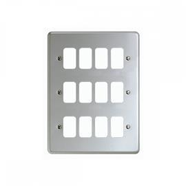 GRID PLUS FRONTPLATE 12 MODULE product photo