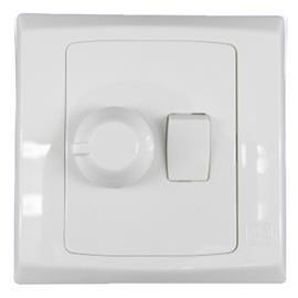 SLIMLINE PLUS DIMMER WITH PLATE SWITCH 500VA 1G product photo