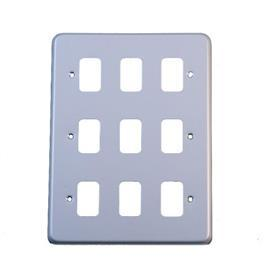 GRID PLUS FRONTPLATE 9 MODULE product photo