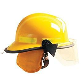 CAIRNS 660C METRO COMPOSITE FIRE HELMET YELLOW product photo