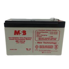 SLA BATTERY 12V 7.6AH product photo