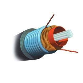 FIBER OPTIC CABLE OUTDOOR ARMOURED OM3 MM 6 CORE product photo