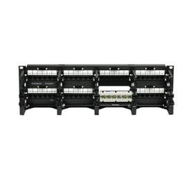 GIGASPEED XL® PATCHMAX® GS3 CAT6 COPPER PATCH PANEL 48 PORT product photo