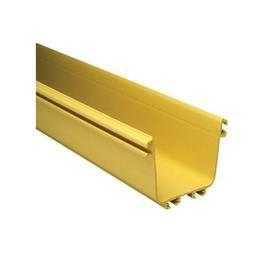 "FIBERGUIDE® HORIZONTAL STRAIGHT SECTION 4"" X 4"" 6 FT YELLOW product photo"