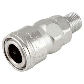"SM TYPE STEEL MALE THREAD SOCKET RC 1/4"" product photo"