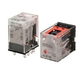 MY2N-CR RELAY WITH LED INDICATOR 8PIN DPDT 5A 200-220VAC product photo