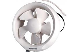 "GLASS MOUNT VENTILATING FAN 8"" product photo"