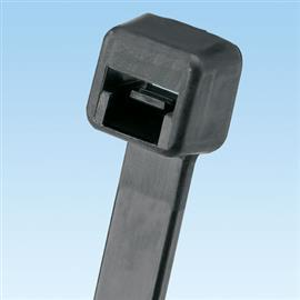 PAN-TY LOCK TIE STANDARD 157MM W/R NYLON BLACK STANDARD PK product photo
