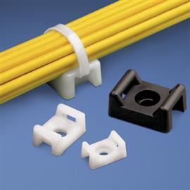 CABLE TIE MOUNT SCREW 10.9MM #8 SCREW (M4) NYLON STD PK (100PCS/PKT) product photo