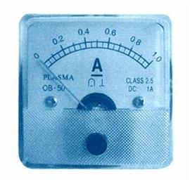 DC AMMETER 50X50MM 5A product photo