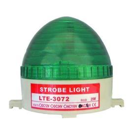 NEON STROBE LIGHT DOME TYPE 240VAC GREEN product photo