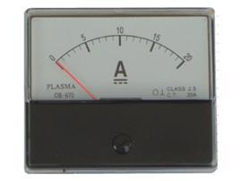 DC AMMETER 60MMX70MM 5A product photo