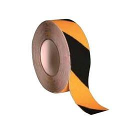 ANTI SLIP FLOOR TAPE BLACK STANDARD 50MMX18.3M product photo