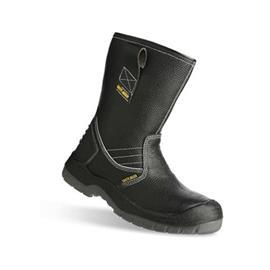BESTBOOT2 SAFETY SHOE HIGH CUT BLACK SIZE 7.5 product photo