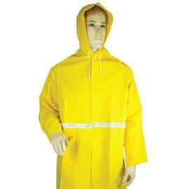 PVC RAIN COAT YELLOW SIZE 2XL product photo