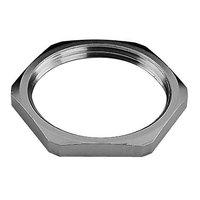 STAINLESS STEEL LOCKNUT NICKEL-PLATED 50MM product photo