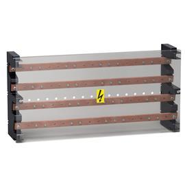 LINERGY BS 4P BUSBAR BLOCK 160A 52 HOLES 235X470X115MM product photo