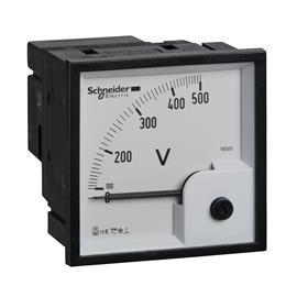 ANALOG VOLTMETER VLT 72X72 MM 0-500V product photo