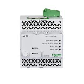 LINK150 ETHERNET GATEWAY 2 ETHERNET PORT 24VDC & POE product photo
