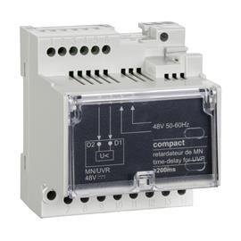 TIME DELAY RELAY FOR VOLTAGE RELEASE MN 48 VAC 50/60HZ product photo