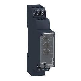 ZELIO CONTROL CONTROL AND MEASUREMENT RELAY 5A 250V 3 PHASE product photo