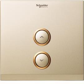 DIMMER COVER PLATE-PLASTIC, CHAMPAGNE GOLD product photo