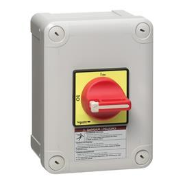 TESYS VARIO ENCLOSED EMERGENCY STOP SWITCH DISCONNECTOR 25A product photo