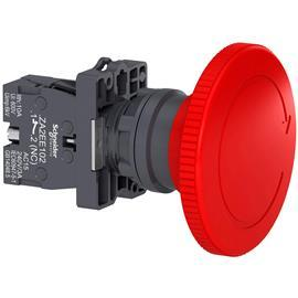 EMERGENCY SWITCHING OFF,TURN TO RELEASE DIA 60,RED ,1NC product photo