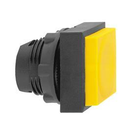 HARMONY XB5 SQUARE PUSHBUTTON HEAD Ø22 UNMARKED YELLOW product photo