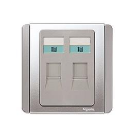 NEO C-METRO TELEPHONE OUTLET CATEGORY 3 2G 4PIN GREY SILVER product photo