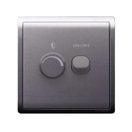 PIENO UNIVERSAL DIMMER SWITCH 450W 240V 1G LAVENDER SILVER product photo