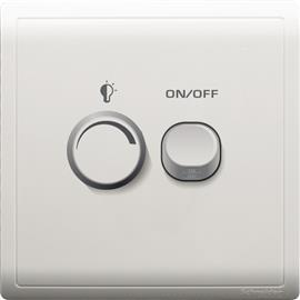 PIENO UNIVERSAL DIMMER SWITCH 450W 240V 1G WHITE product photo