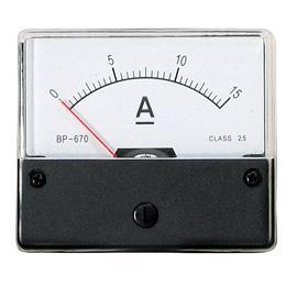 BP-670 DC AMMETER 10A 60X70MM product photo