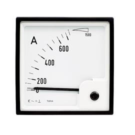 BE-96 AC AMMETER 96X96MM 5A product photo