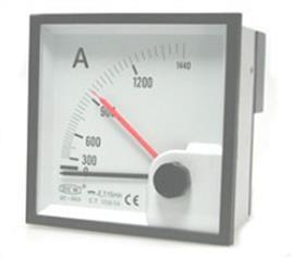 BE-96 C.T AMMETER 96X96MM 5A product photo