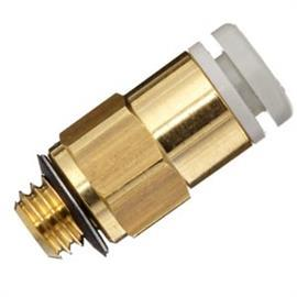 KQ2 STRAIGHT UNION MALE CONNECTOR 6MM product photo