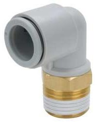 ELBOW THREADED-TO-TUBE ADAPTER R 1/8 MALE 10 MM product photo