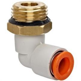 BRASS PUSH-TO-CONNECT TUBE FITTING 16 MM TUBE OD product photo