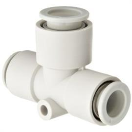 KQ2 TEE THREADED-TO-TUBE ADAPTER R 1/4 MALE 10 MM product photo