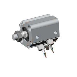 CQ2 COMPACT CYLINDER WITH AUTO SWITCH 20MM BORE 10MM STROKE product photo